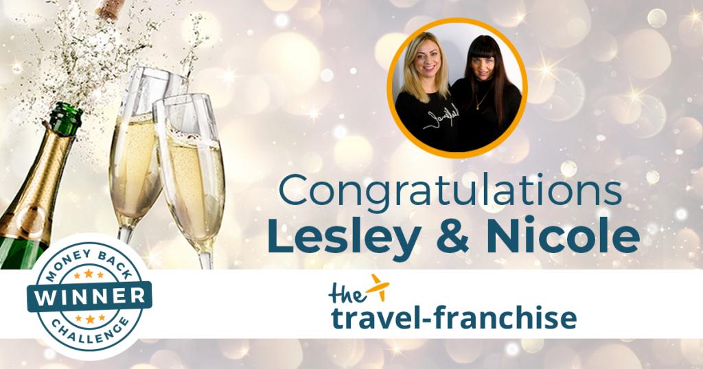 Lesley and Nicole Money Back Challenge Winners