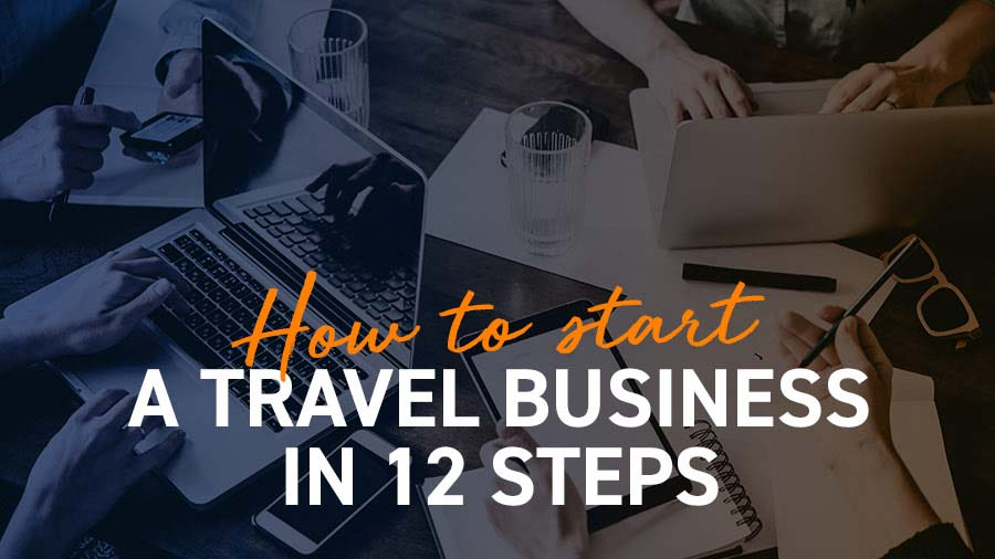 how to start a travel business title image